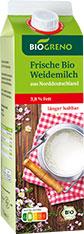 Thumbnail Frische Bio Weidemilch 3,8%