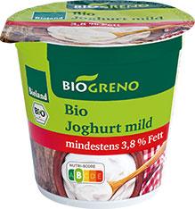 Thumbnail Joghurt mild 3,8% Fett