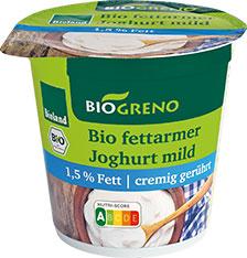 Thumbnail Fettarmer Bio-Joghurt mild 1,5% Fett