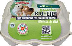 Thumbnail frische Bio-Eier (Bruderhahn)