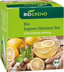 Thumbnail Tee Ingwer-Zitrone